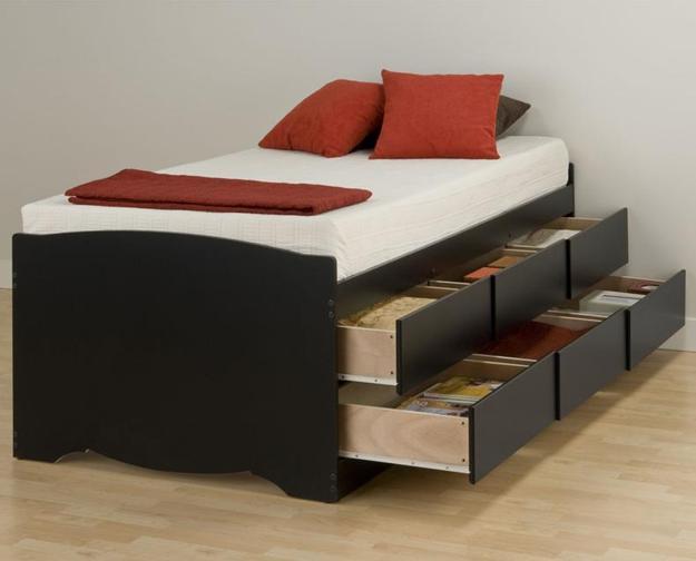 Wedo thiet ke giuong da nang cho khong gian phong ngu nho 9 Chia sẻ những mẫu giường thông minh dành cho phòng ngủ nhỏ