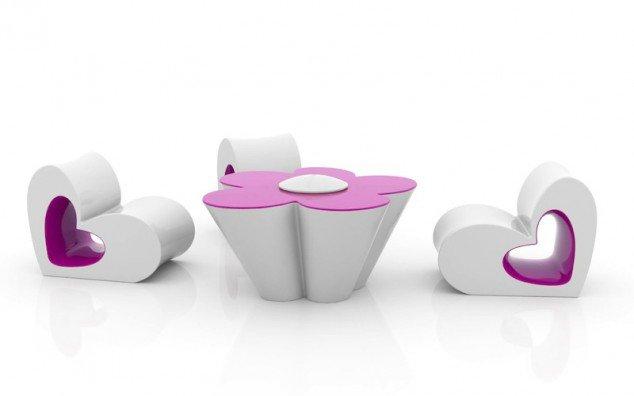 Wedo thiết kế bàn ghé độc đáo, sáng tạo cho nhà đẹp hoàn hảo