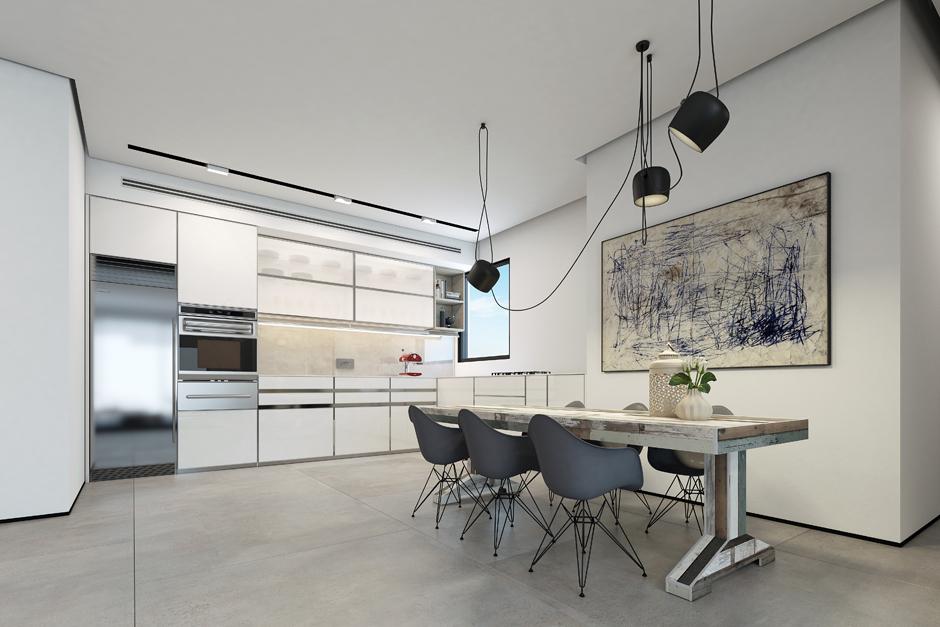 Wedo thiết kế nội thất nhà đẹp với màu trắng
