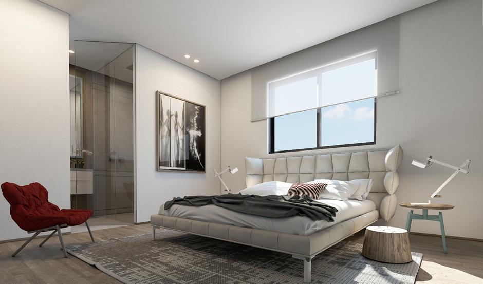 Wedo thiết kế nội thất phòng ngủ tinh tế với màu trắng