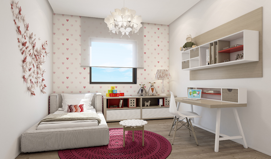 Wedo thiết kế nội thất phòng ngủ đẹp tinh tế với màu trắng