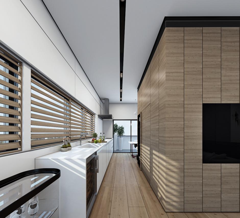 Wedo thiết kế nội thất nhà đẹp tinh tế với màu trắng