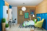 Wedo thiết kế nội thất phòng ngủ sang trọng và ấm áp với gỗ tự nhiên