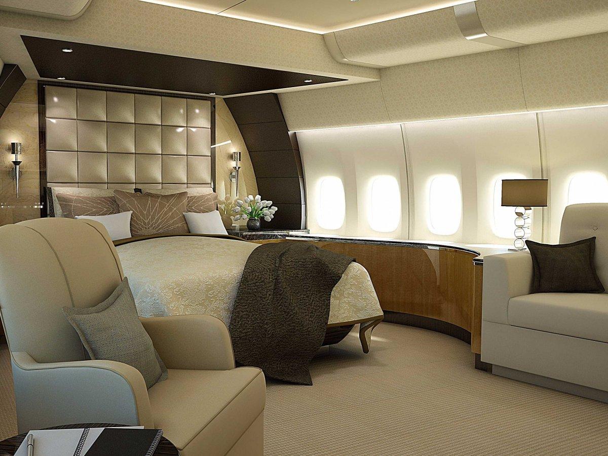 Wedo thiết kế nội thất phòng ngủ sang trọng và độc đáo giống như trên một chiếc máy bay