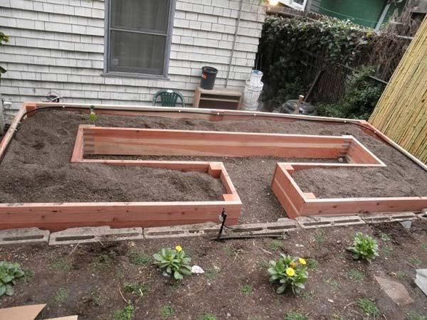 Wedo thiết kế tiểu cảnh sân vườn đơn giản và độc đáo với gạch