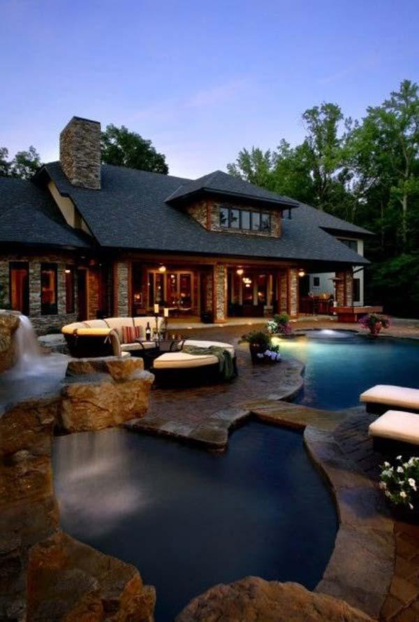 Wedo thiết kế bể bơi sang trọng