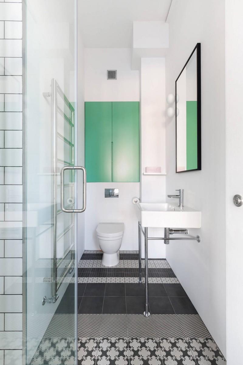 Wedo thiết kế nội thất phòng tắm hiện đại từ không gian công nghiệp