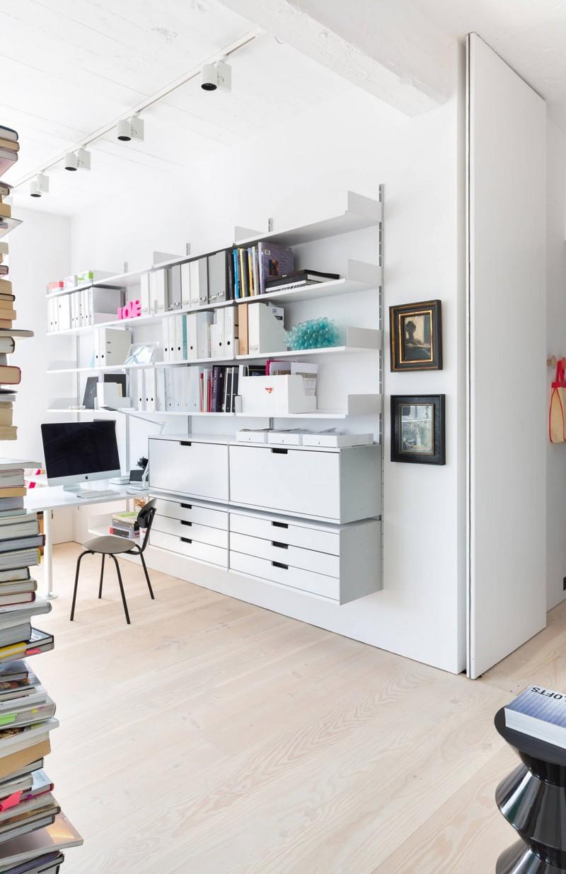 Wedo thiết kế nội thất phòng khách mở đẹp từ không gian công nghiệp