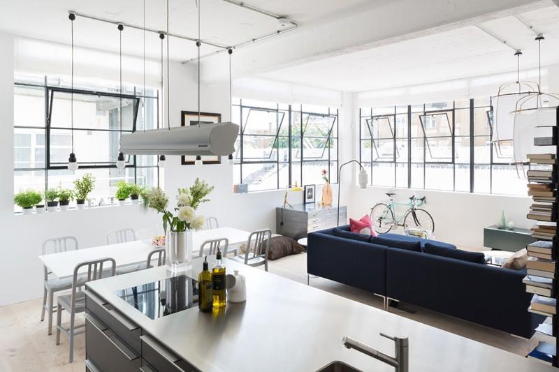 Wedo thiết kế nội thất phòng bếp và phòng ăn đẹp từ không gian công nghiệp