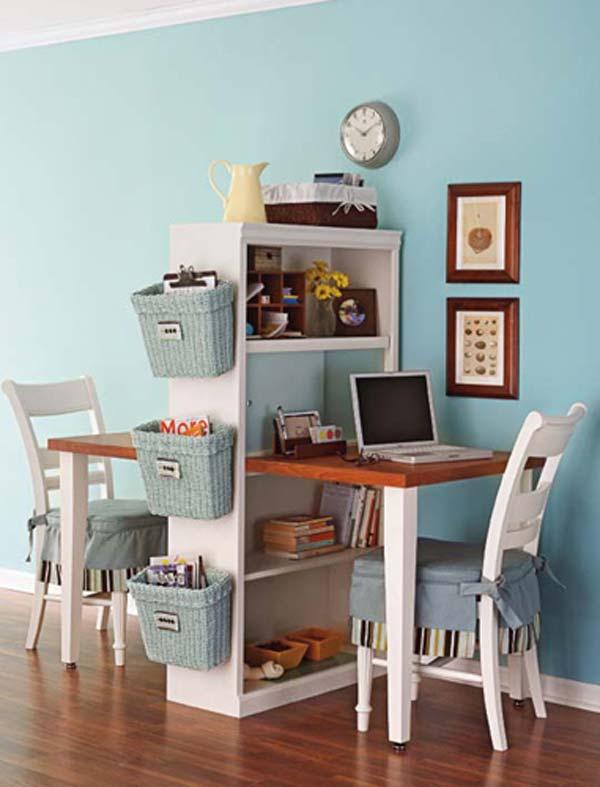 Wedo thiết kế nội thất bàn học thông minh, sáng tạo và tiết kiệm cho phòng của trẻ