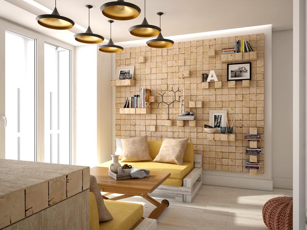 Wedo thiết kế nội thất hoàn hảo cho không gian phòng ngủ mở nhỏ