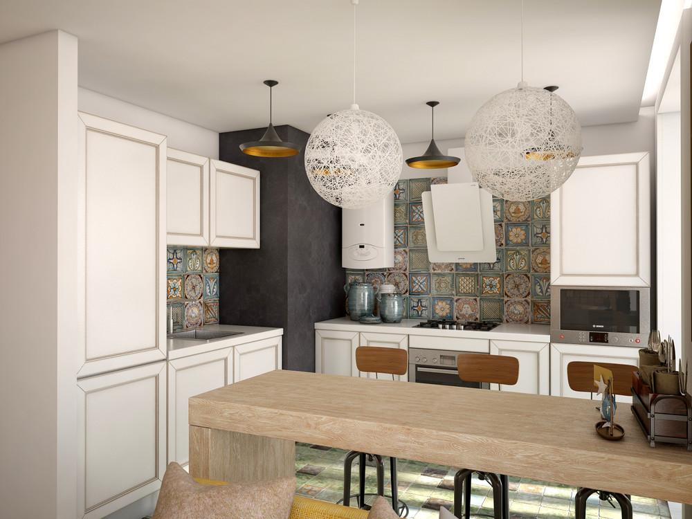 Wedo thiết kế nội thất hoàn hảo cho không gian phòng bếp, phòng ăn mở nhỏ