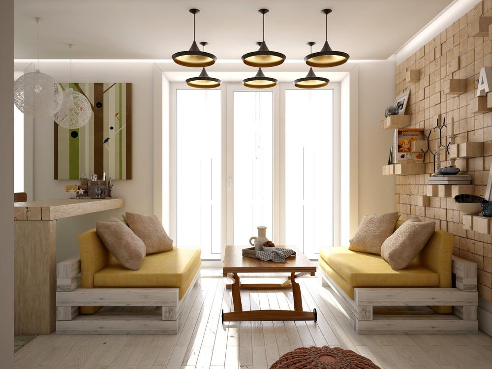 Wedo thiết kế nội thất hoàn hảo cho phòng khách mở nhỏ