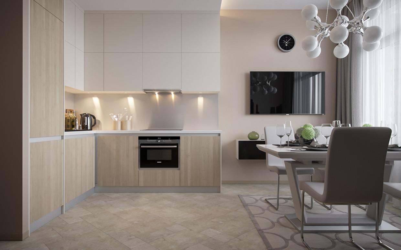 Wedo thiết kế nội thất nhà bếp, phòng ăn đơn giản, thông minh cho nhà nhỏ