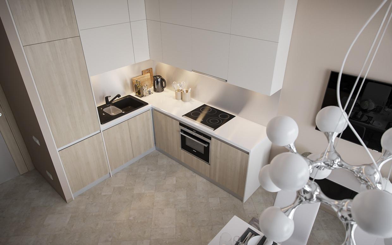 Wedo thiết kế nội thất phòng ăn, nhà bếp thông minh cho nhà nhỏ
