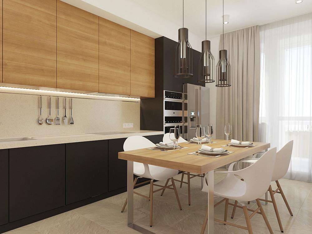 Wedo thiết kế nội thất phòng ăn, nhà bếp đơn giản, thông minh cho nhà đẹp