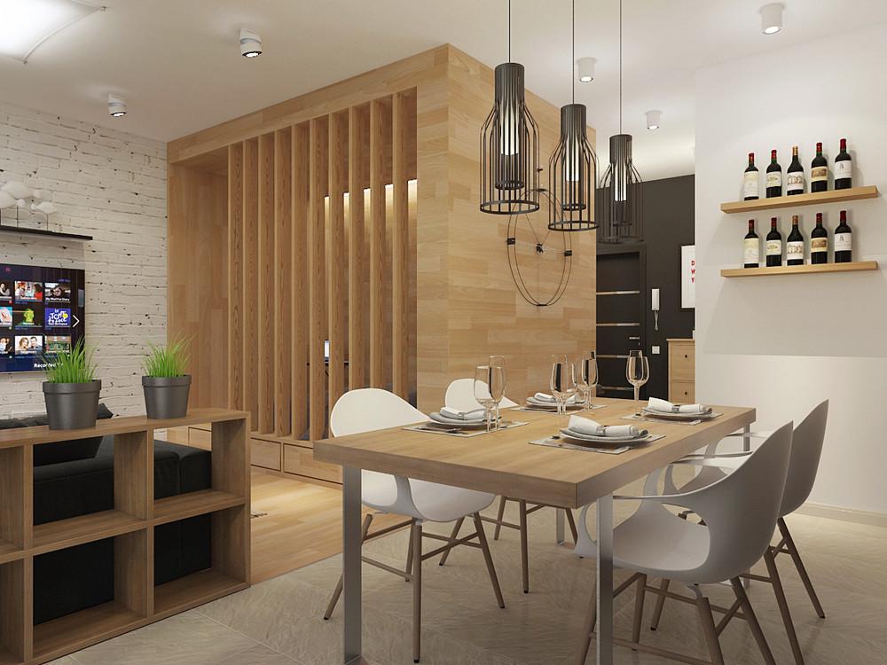 Wedo thiết kế nội thất phòng ăn, nhà bếp đơn giản, thông minh cho nhà nhỏ