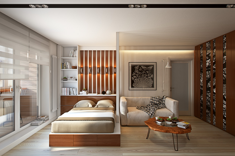 Wedo thiết kế nội thất phòng ngủ đơn giản, thông minh cho nhà nhỏ