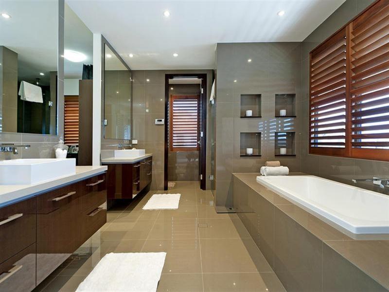 Wedo thiết kế nội thất phòng tắm đơn giản và đẹp cho ngôi nhà 2 tầng