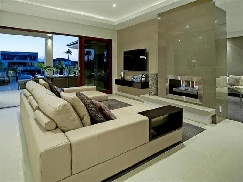 Wedo thiết kế nội thất phòng khách đơn giản và đẹp cho ngôi nhà 2 tầng