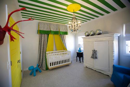 Wedo thiết kế nội thất phòng ngủ trẻ em đẹp với màu xanh lá cây