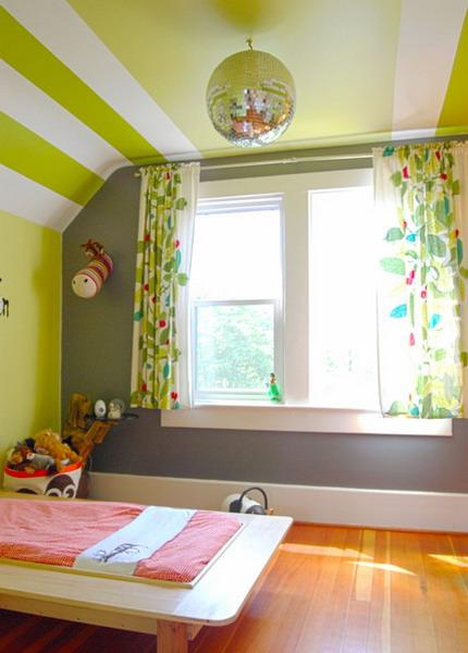 Wedo thiết kế nội thất phòng ngủ đẹp với màu xanh lá cây