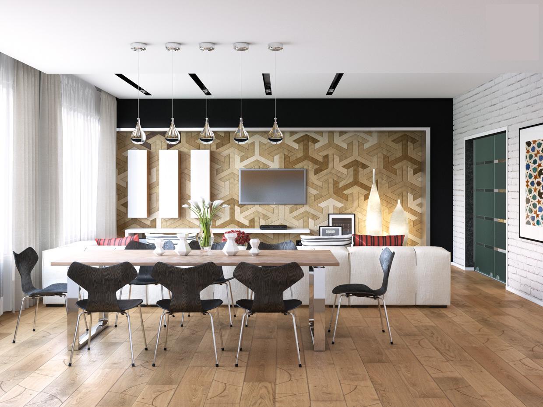 Wedo thiết kế nội thất đẹp cho phòng ăn, nhà bếp