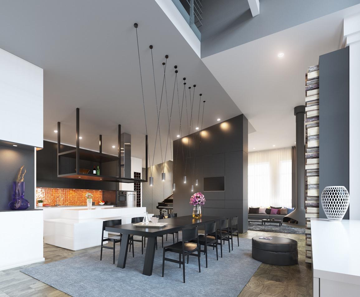 Wedo thiết kế nội thất nhà bếp và phòng ăn đẹp