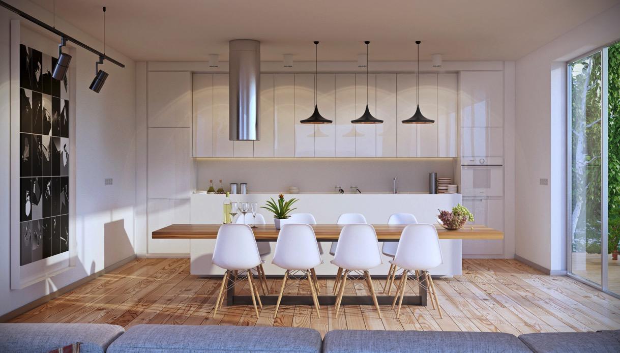 Wedo thiết kế nội thất phòng ăn đơn giản và đẹp
