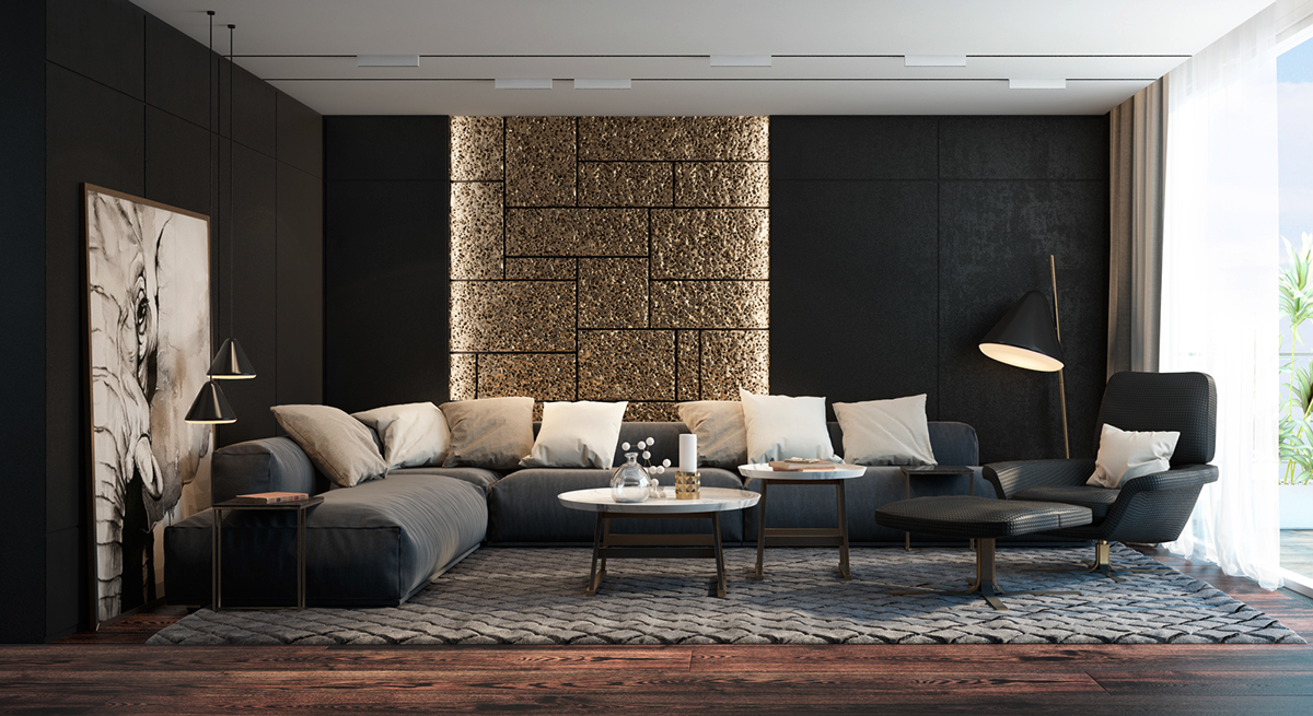 Wedo thiết kế nội thất phòng khách hiện đại,thoáng mát 25