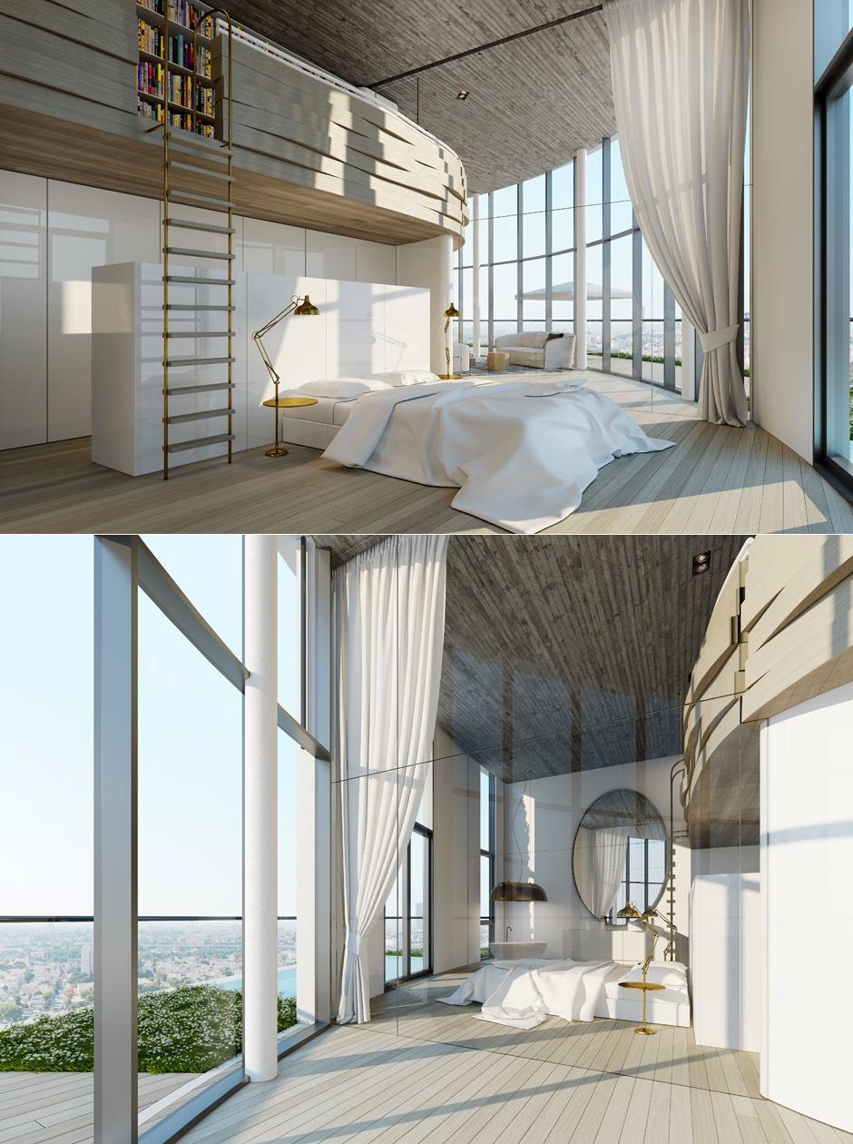 Wedo thiết kế nội thất phòng ngủ đẹp mơ mộng