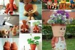 Wedo tư vấn trang trí nhà đẹp, thân thiện và thú vị với chậu cây đất sét tự làm