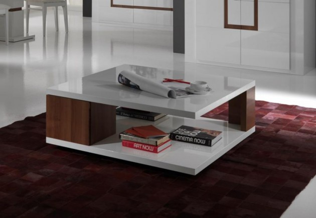 Wedo thiết kế phòng khách đẹp và tăng khả năng lưu trữ với bàn cafe 9