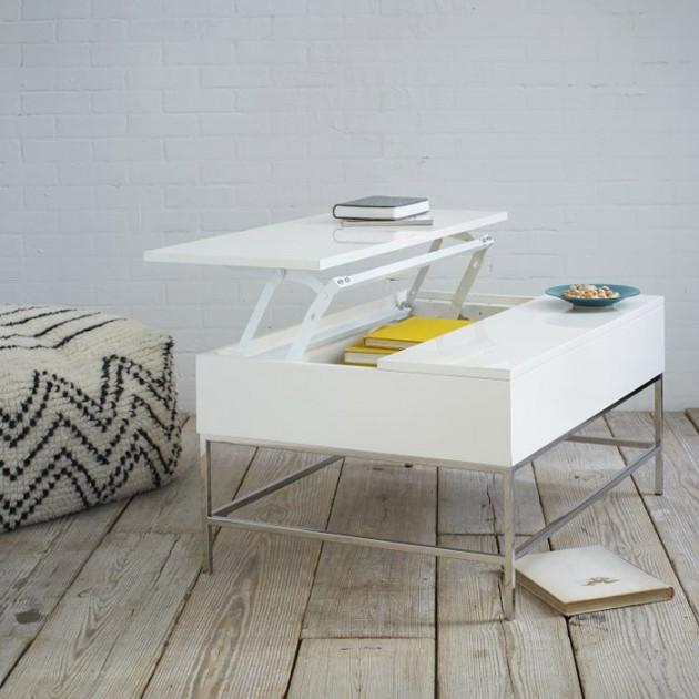 Wedo thiết kế phòng khách đẹp và tăng khả năng lưu trữ với bàn cafe 12