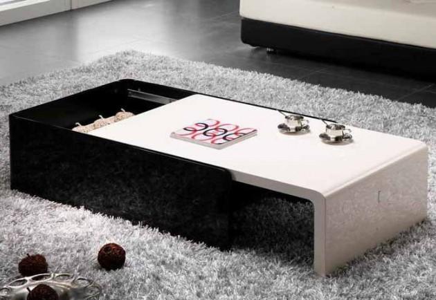 Wedo thiết kế phòng khách đẹp và tăng khả năng lưu trữ với bàn cafe 6