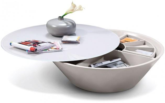 Wedo thiết kế phòng khách đẹp và tăng khả năng lưu trữ với bàn cafe 11