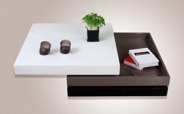 Wedo thiết kế phòng khách đẹp và tăng khả năng lưu trữ với bàn cafe 1