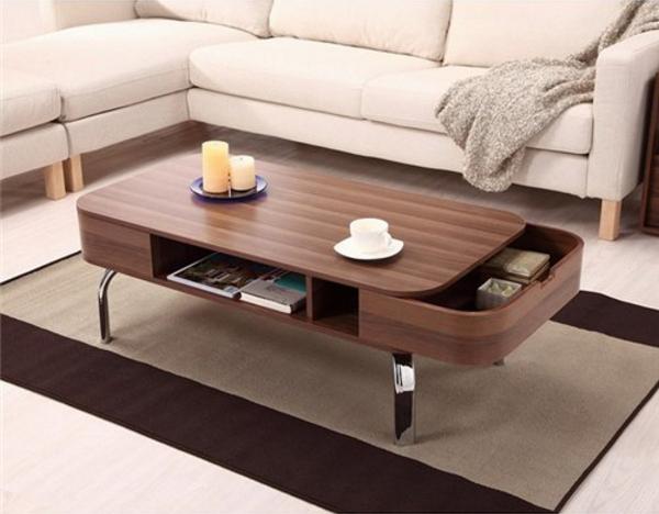 Wedo thiết kế phòng khách đẹp và tăng khả năng lưu trữ với bàn cafe 15