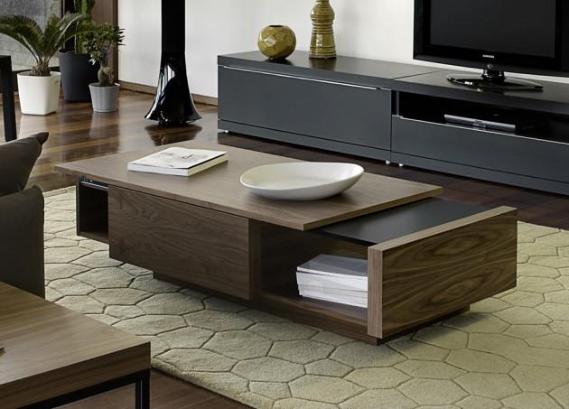 Wedo thiết kế phòng khách đẹp và tăng khả năng lưu trữ với bàn cafe 2