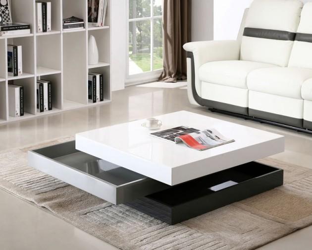 Wedo thiết kế phòng khách đẹp và tăng khả năng lưu trữ với bàn cafe 14