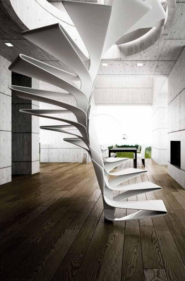 Wedo thiết kế cầu thang độc đáo, sang trọng cho nhà hiện đại