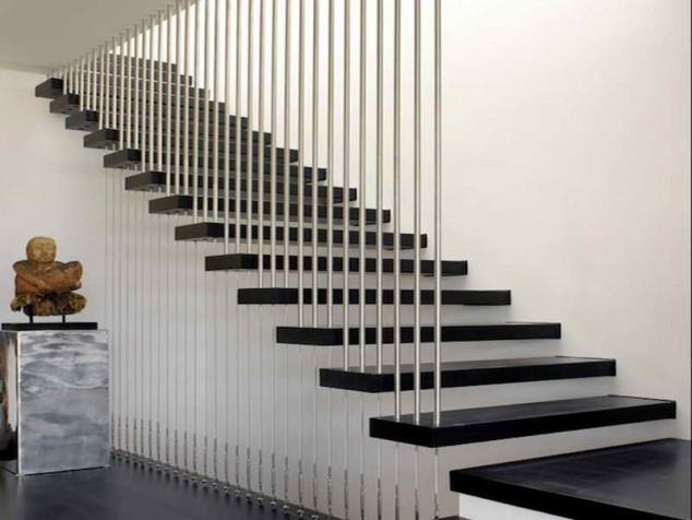 Wedo thiết kế cầu thang hiện đại, sang trọng cho nhà phố, biệt thự