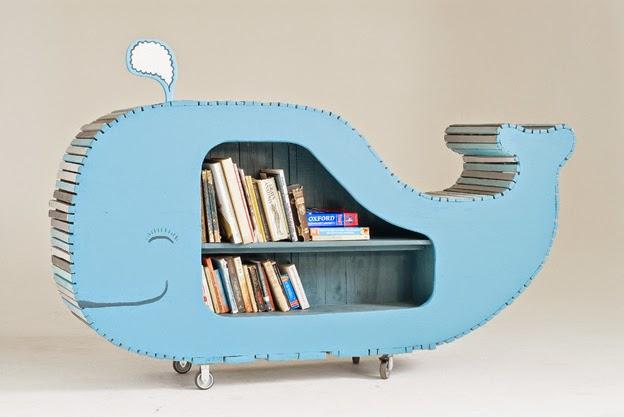 Wedo thiết kế kệ sách sáng tạo và thú vị cho phòng trẻ em 9
