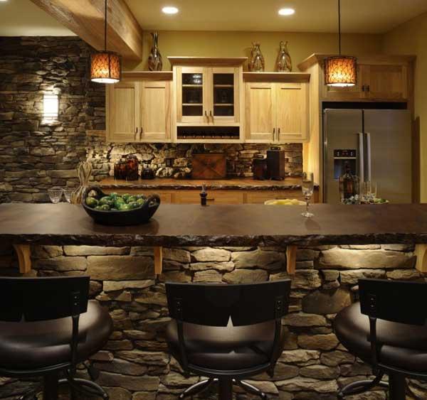 Wedo thiết kế nội thất nhà bếp đẹp với đá tự nhiên 11
