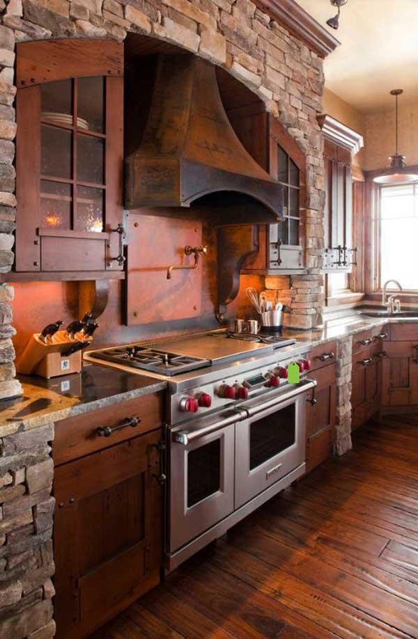 Wedo thiết kế nội thất nhà bếp đẹp với đá tự nhiên 20