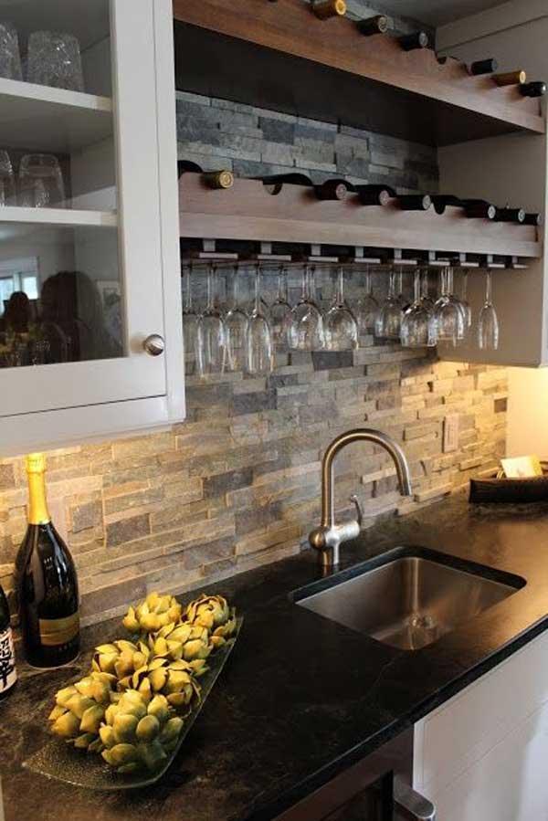 Wedo thiết kế nội thất nhà bếp đẹp với đá tự nhiên 15