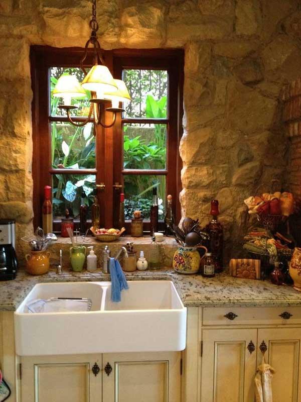 Wedo thiết kế nội thất nhà bếp đẹp với đá tự nhiên 8