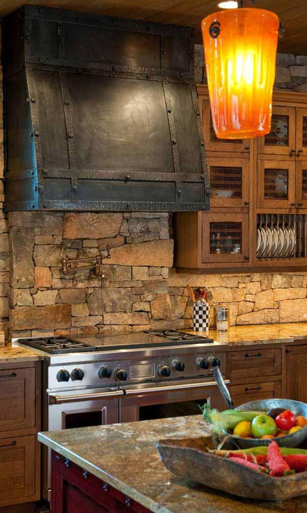 Wedo thiết kế nội thất nhà bếp đẹp với đá tự nhiên 9