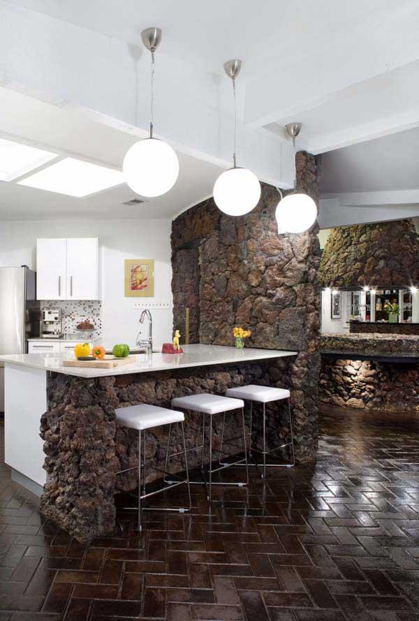 Wedo thiết kế nội thất nhà bếp đẹp với đá tự nhiên 16