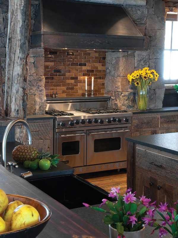 Wedo thiết kế nội thất nhà bếp đẹp với đá tự nhiên 13